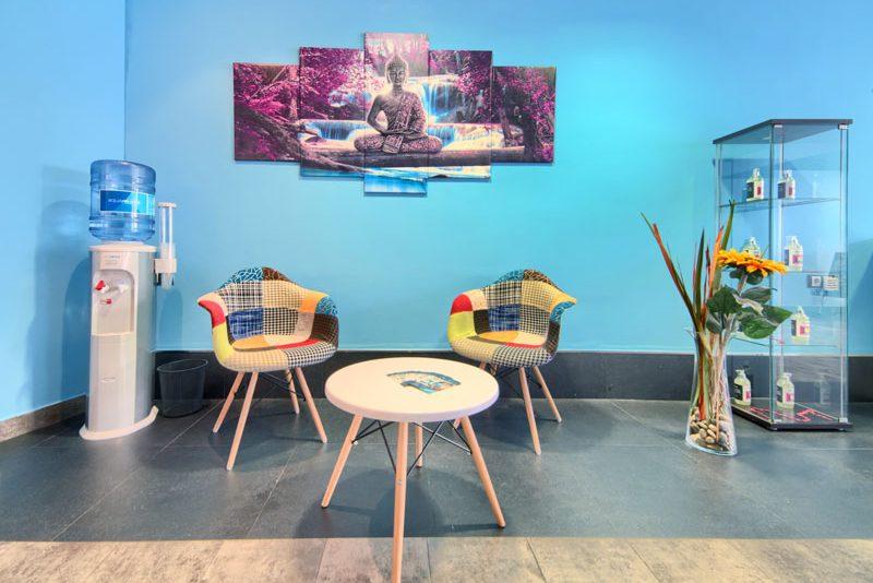 Sala de espera Cocora Tudela